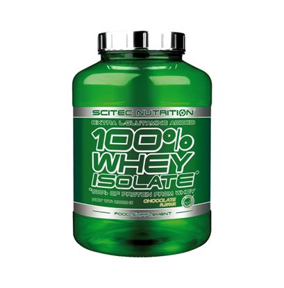 Picture of Scitec Nutrition 100% Whey Isolate Chocolate