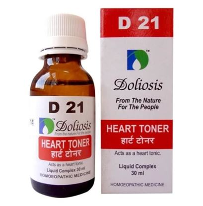 Picture of Doliosis D21 Heart Toner Drop