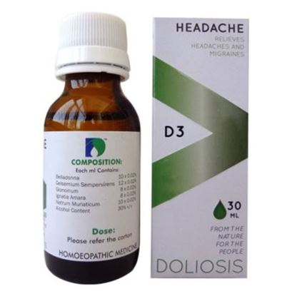 Picture of Doliosis D3 Headache Drop