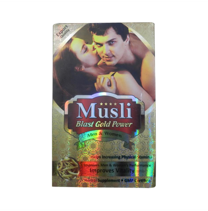 Picture of Dr Chopra Musli Blast Gold Power Capsule