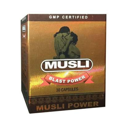 Picture of Dr Chopra Musli Blast Power Capsule