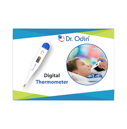 Picture of Dr Odin Digital Medical Thermometer Blue