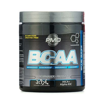 Picture of GNC (NDS) PMD BCAA Powder Blue Razz