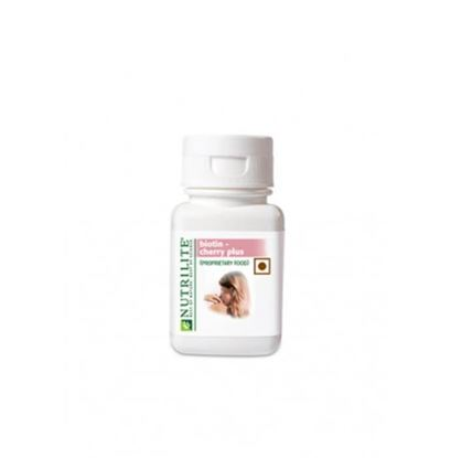 Picture of Amway Nutrilite Biotin Cherry Plus Tablet