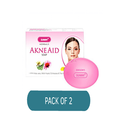Picture of BAKSON'S Akne Aid Soap Pack of 2