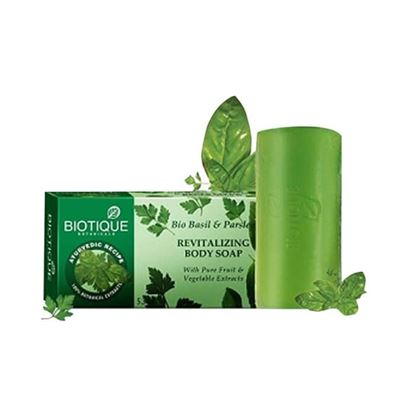 Picture of Biotique Bio Basil and Parsley Revitalizing Body Soap Pack of 2