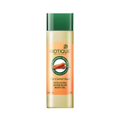 Picture of Biotique Bio Carrot Seed Anti-Aging After-Bath Body Oil