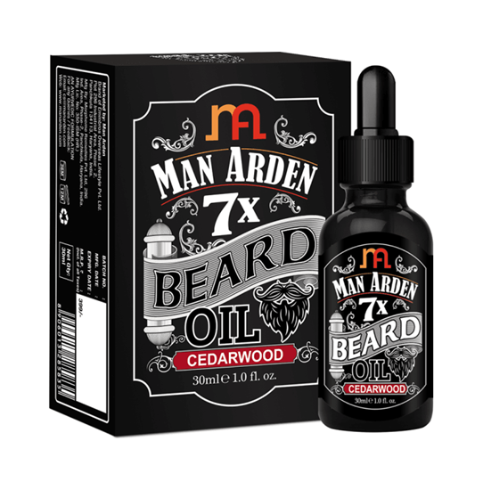 Picture of Man Arden 7X Beard Oil Cedarwood