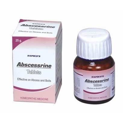 Picture of Hapdco Abscessrin Tablet