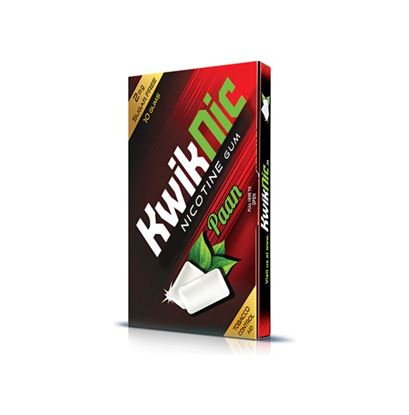 Picture of KwikNic 2mg Chewing Gums Paan Pack of 5