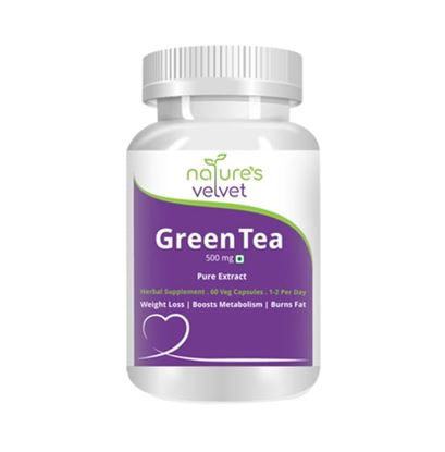 Picture of Natures Velvet Lifecare Green Tea Pure Extract 500mg Capsule