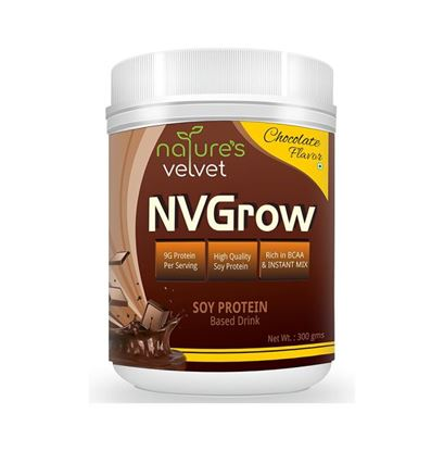Picture of Natures Velvet Lifecare Lifecare NVGrow Soy Based Protein Drink Chocolate