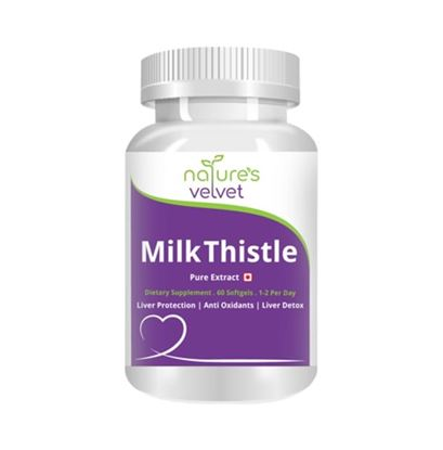 Picture of Natures Velvet Lifecare Milk Thistle Pure Extract 500mg Capsule