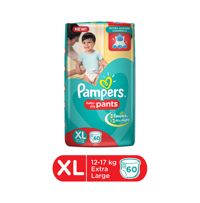 Picture of Pampers Baby Dry Pants Diaper XL