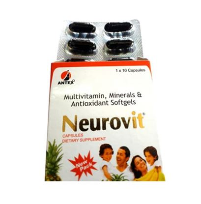 Picture of Neurovit Soft Gelatin Capsule
