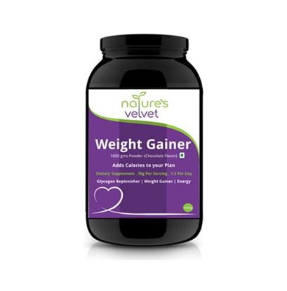 Picture of Natures Velvet Lifecare Weight Gainer Powder Chocolate