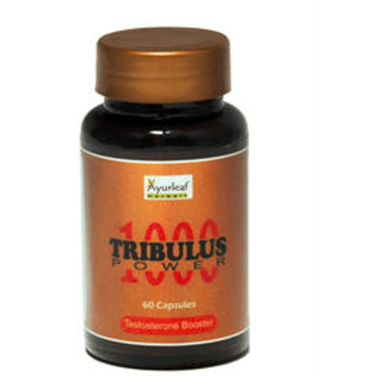 Picture of Ayurleaf Tribulus Power 1000 Capsule