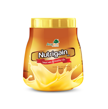 Picture of Ayurwin Nutrigain Plus Powder Banana