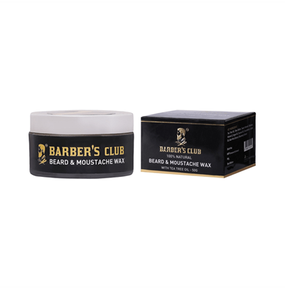 Picture of Barber's Club Beard & Moustache Wax with Tea Tree Oil