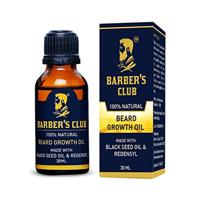 Picture of Barber's Club Beard Growth Oil with Black Seed