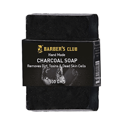 Picture of Barber's Club Hand Made Organic Charcoal Soap