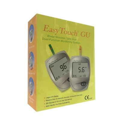 Picture of EasyTouch ET-201 GU Blood Glucose/Uric Acid Dual-Function Monitoring System
