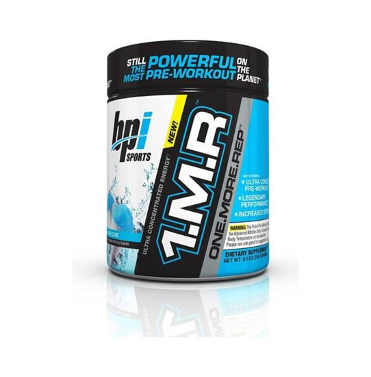 Picture of BPI Sports 1MR One More Rep Ultra Concentrated Energy Supplement Powder Snow Cone