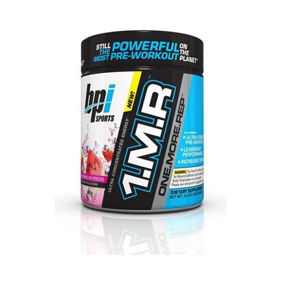 Picture of BPI Sports 1MR One More Rep Ultra Concentrated Energy Supplement Powder Watermelon Freeze