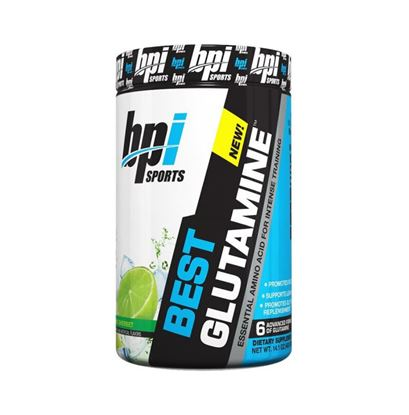 Picture of BPI Sports Best Glutamine Powder Lime Sherbet