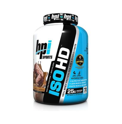 Picture of BPI Sports ISO HD 100% Whey Protein Isolate & Hydrolysate Chocolate Brownie