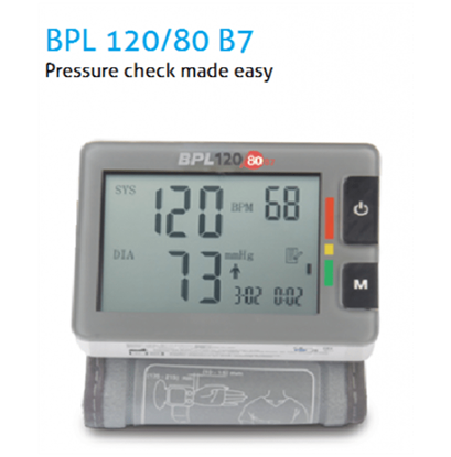 Picture of BPL B7 Automatic Wrist Type Blood Pressure Monitor