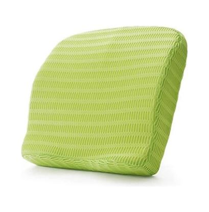 Picture of Health Sense BC 21 Backrest Cushion with Memory Foam Grass Green