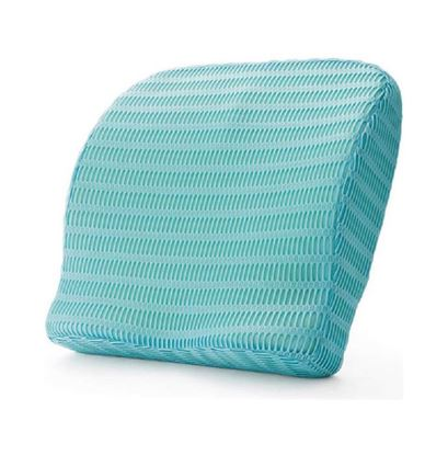 Picture of Health Sense BC 21 Backrest Cushion with Memory Foam Ice Blue