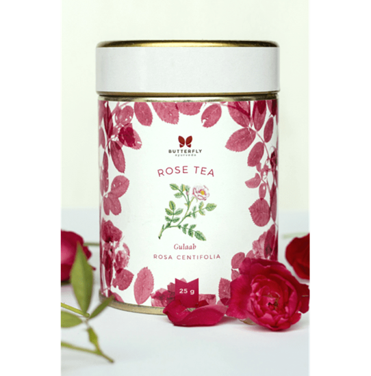 Picture of Butterfly Ayurveda Floral Tea - Rose Petal Infusion (Gulaab)