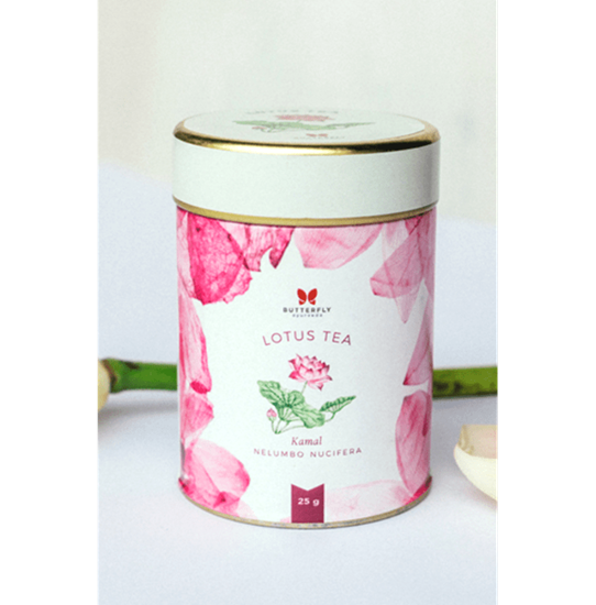 Picture of Butterfly Ayurveda Floral Tea- Lotus Petal Infusion (Kamal)
