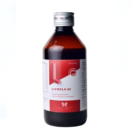 Picture of Butterfly Ayurveda Livofly-SF Syrup