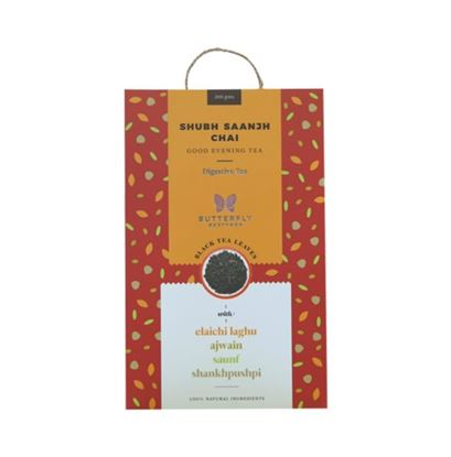 Picture of Butterfly Ayurveda Shubh Saanjh Chai Black Tea Leaves