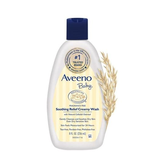 Picture of Aveeno Baby Soothing Relief Creamy Wash