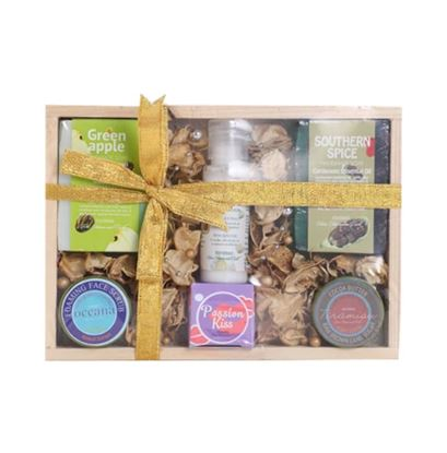 Picture of Nyassa Wooden Gift Set - 111gm
