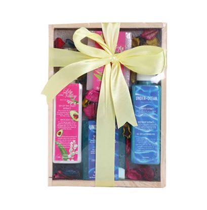 Picture of Nyassa Wooden Gift Set - 350gm