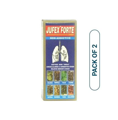 Picture of AIMIL Jufex Forte Syrup Pack of 2