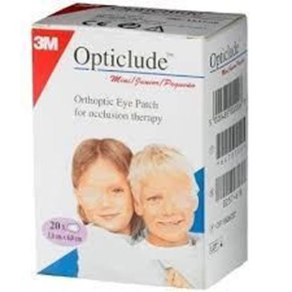 Picture of 3M Opticlude Orthoptic Eye Patch Child