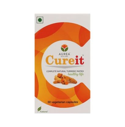 Picture of Aurea Biolabs Cureit - Bio Efficient Curcumin Veg Capsule