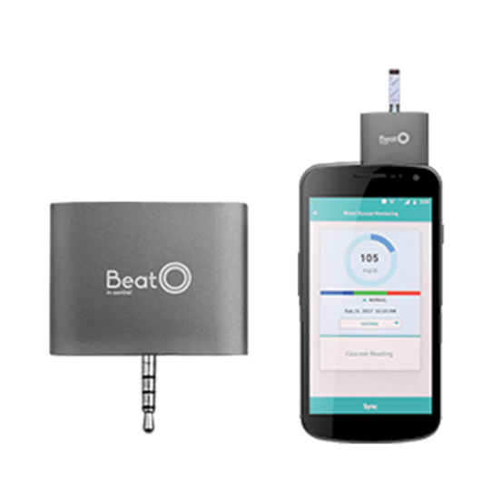 Picture of BeatO Smart Phone Glucometer with 20 Strips