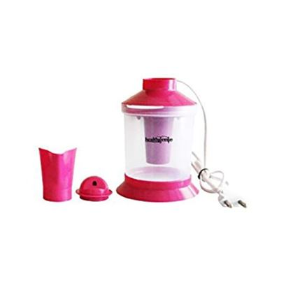 Picture of Healthgenie 2 in 1 Steam Sauna Vaporizer Regular Pink