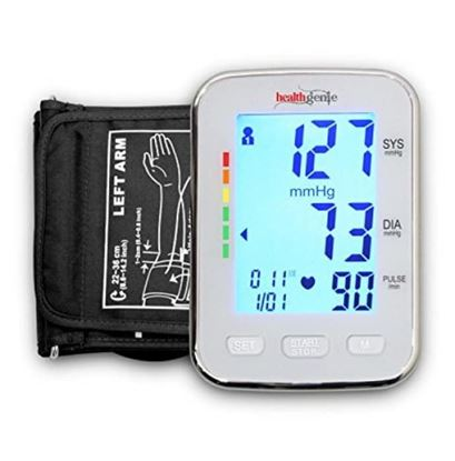Picture of Healthgenie BPM04KBL Upper Arm Digital BP Monitor