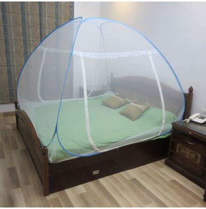 Picture of Healthgenie Double Bed Mosquito Net Blue