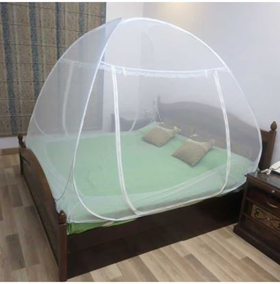 Picture of Healthgenie Double Bed Mosquito Net White