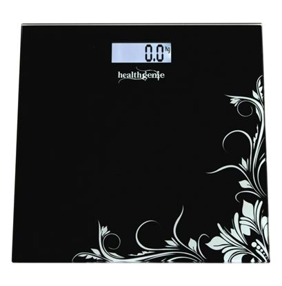 Picture of Healthgenie HD-221 Digital Weighing Scale Black