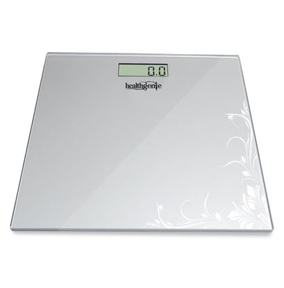 Picture of Healthgenie HD-221 Digital Weighing Scale Silver Pattern